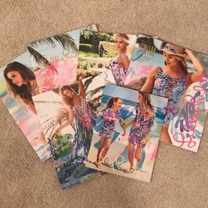 Lot of Lilly Catalogs